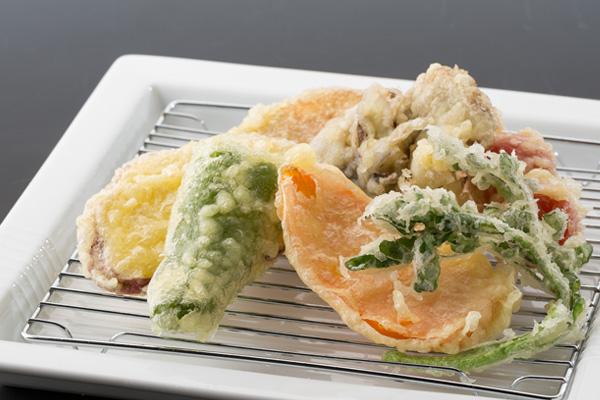 野菜天定食